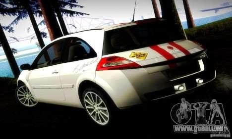 Renault Megane Coupe 2008 TR für GTA San Andreas linke Ansicht