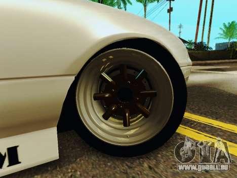 Mazda MX-5 Miata Rocket Bunny pour GTA San Andreas vue arrière
