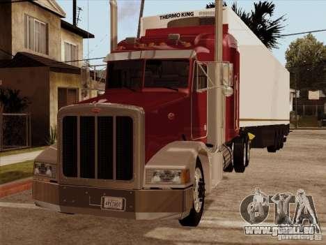 Peterbilt 377 für GTA San Andreas linke Ansicht