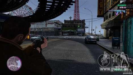 VC Style Radar/HUD (peau 3) pour GTA 4