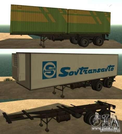 Container-Reederei + Sovtransavto für GTA San Andreas