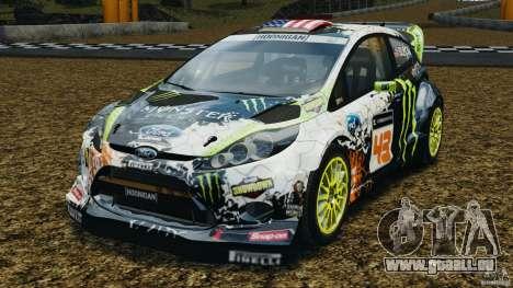 Ford Fiesta RS WRC Gymkhana v1.0 pour GTA 4