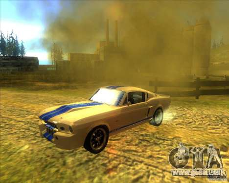 Shelby GT500 Eleanora clone pour GTA San Andreas