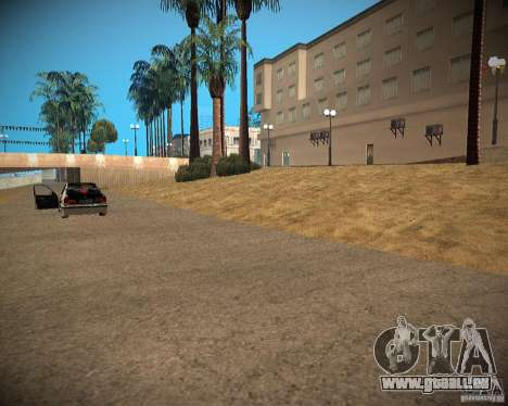 New textures beach of Santa Maria pour GTA San Andreas cinquième écran