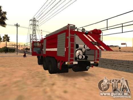 KAMAZ 53229 Feuerwehrmann für GTA San Andreas rechten Ansicht