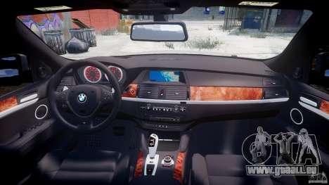 BMW X6M v1.0 für GTA 4 Unteransicht