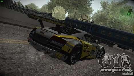 Audi R8 LMS pour GTA San Andreas moteur