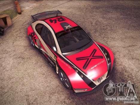 Colin McRae R4 pour GTA San Andreas vue de côté