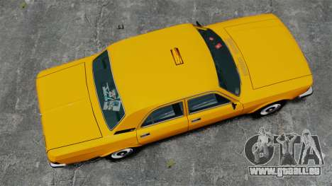 Taxi gaz-3102 pour GTA 4 est un droit