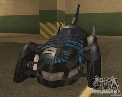 Batmobile 1995 für GTA San Andreas linke Ansicht