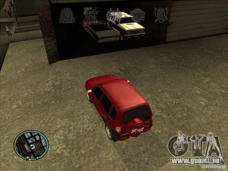 RADIO HUD IV 3.0 für GTA San Andreas