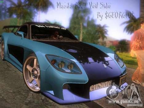 Mazda RX 7 Veil Side pour GTA San Andreas