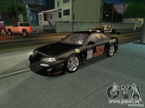 Nissan Silvia S15 Tunable KIT C1 - TOP SECRET für GTA San Andreas Unteransicht