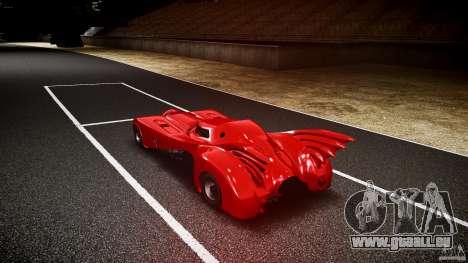 Batmobile Final pour GTA 4 Vue arrière de la gauche