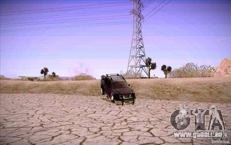 Nissan Fronter für GTA San Andreas Innen