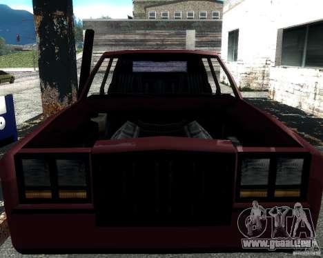 Derby Greenwood Killer für GTA San Andreas linke Ansicht