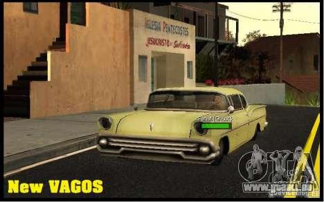 New Vagos [lsv2] pour GTA San Andreas troisième écran