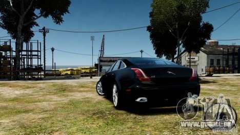 Jaguar XJ 2012 pour GTA 4 est un droit