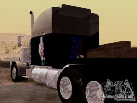 Peterbilt 378 Custom für GTA San Andreas rechten Ansicht