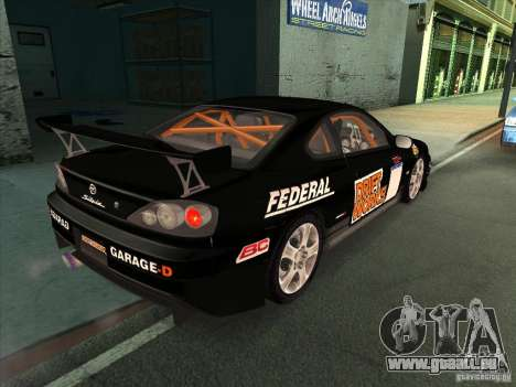 Nissan Silvia S15 Tunable KIT C1 - TOP SECRET pour GTA San Andreas salon
