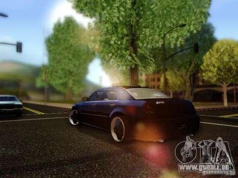 Chrysler 300C VIP pour GTA San Andreas sur la vue arrière gauche