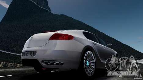 Bugatti Galibier 2009 pour GTA 4 est un droit