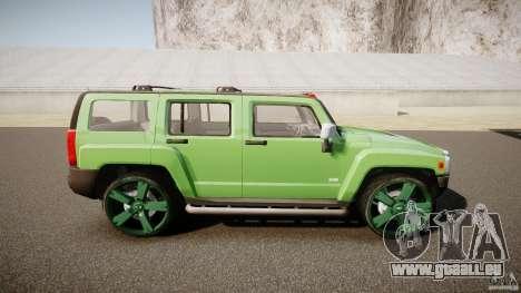 Hummer H3 für GTA 4 Seitenansicht