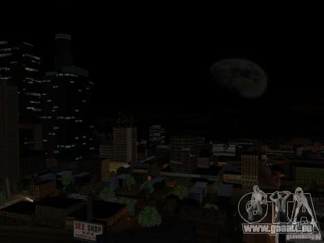 Realistic Night Mod pour GTA San Andreas deuxième écran