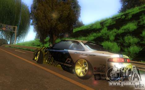 Nissan Silvia S14 zenki matt powers für GTA San Andreas zurück linke Ansicht