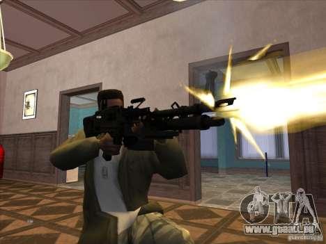 M60E4 pour GTA San Andreas troisième écran