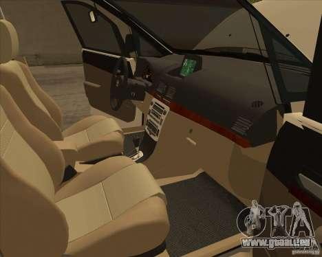Toyota Innova für GTA San Andreas Innen