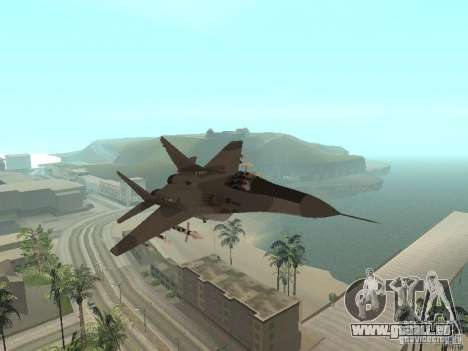 MIG-29 de la COD MW2 pour GTA San Andreas