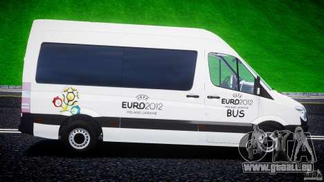 Mercedes-Benz Sprinter Euro 2012 pour GTA 4 est une gauche