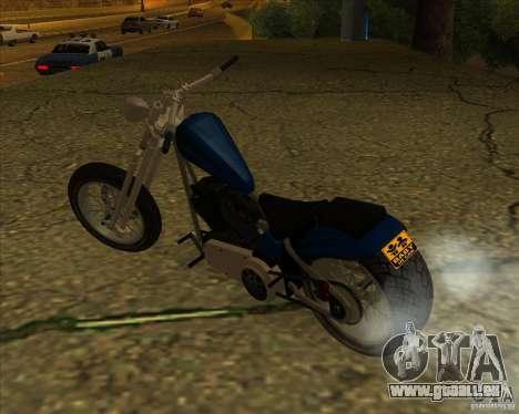 Hexer bike pour GTA San Andreas vue de droite