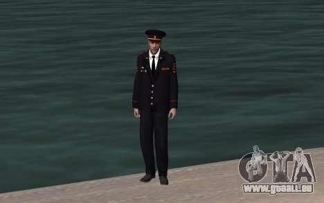 Das Innenministerium-Officer für GTA San Andreas