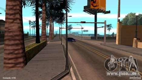 BAZ 21099 pour GTA San Andreas vue arrière
