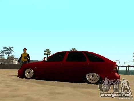 Suspension pneumatique pour GTA San Andreas cinquième écran