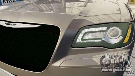 Chrysler 300 SRT8 2012 für GTA 4 Rückansicht