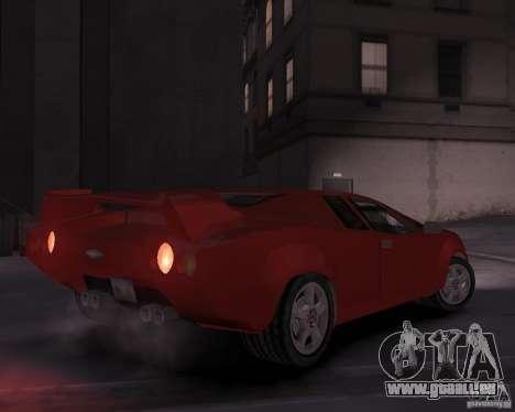 Infernus - Vice City pour GTA 4 est un droit