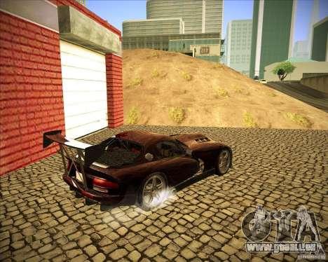 Dodge Viper TT pour GTA San Andreas vue de droite