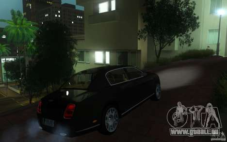 Bentley Continental Flying Spur pour GTA San Andreas vue de droite