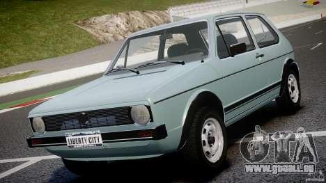 Volkswagen Golf Mk1 pour GTA 4