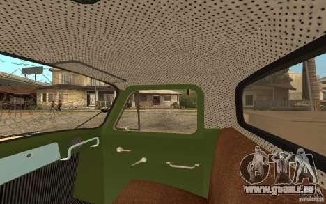 GAZ-52 für GTA San Andreas Räder