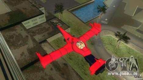 Swordfish Mono Racer pour une vue GTA Vice City de la gauche