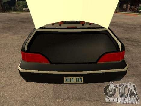 Ford Crown Victoria 1994 Police pour GTA San Andreas vue de côté