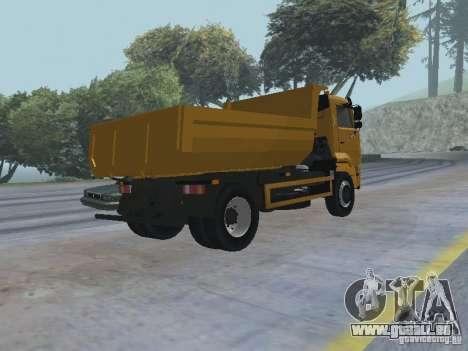 KAMAZ-53605-TAI Version 1.1 für GTA San Andreas rechten Ansicht