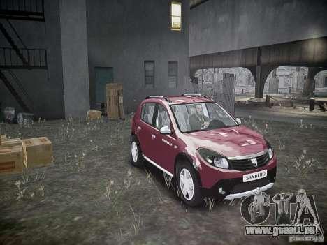 Dacia Sandero Stepway für GTA 4 Seitenansicht