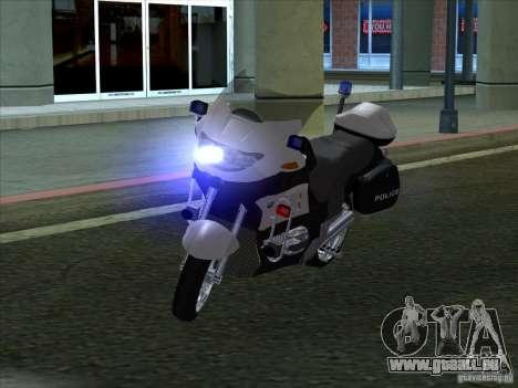 CopBike für GTA San Andreas