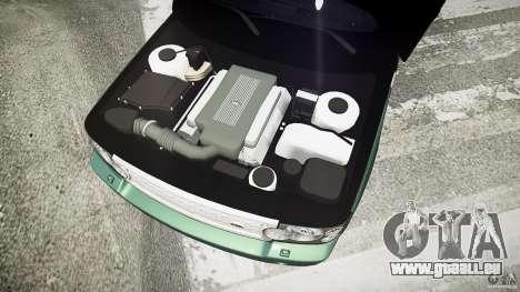 Range Rover Supercharged v1.0 pour GTA 4 est une vue de l'intérieur