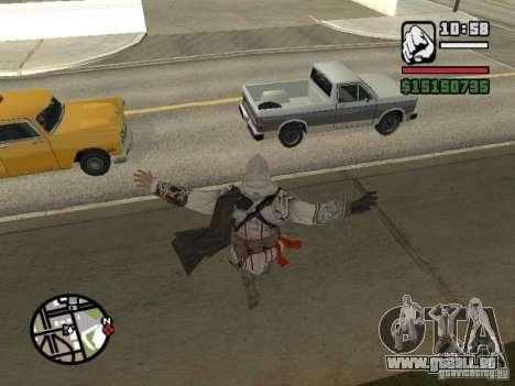 Die Fähigkeit von Assassins Creed für GTA San Andreas